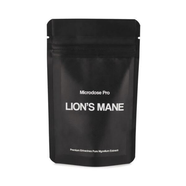 Lions Mane Packzwart Voorkant 1